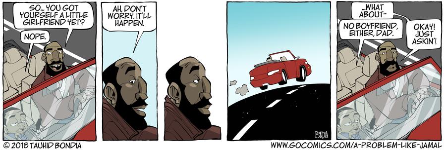 A Problem Like Jamal Comic Strip for January 11, 2019