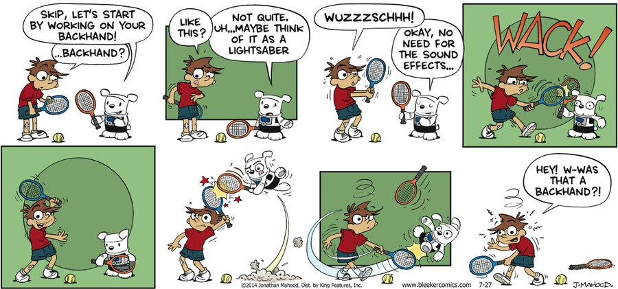 Bleeker: The Rechargeable Dog Comic Strip for August 01, 2021