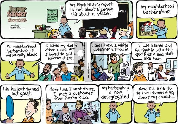 JumpStart on Sunday February 22, 2015 Comic Strip