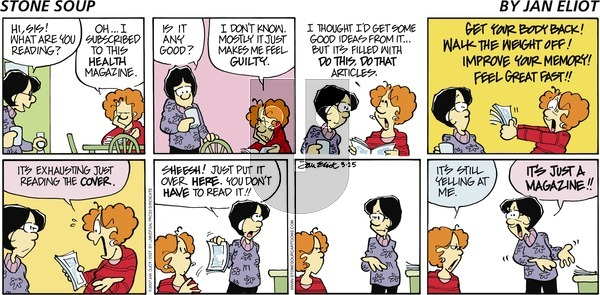 Stone Soup on Sunday March 25, 2007 Comic Strip