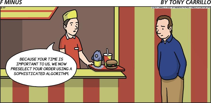 F Minus Comic Strip for February 17, 2019