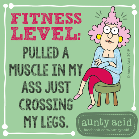 Aunty Acid Comic Strip for May 19, 2019