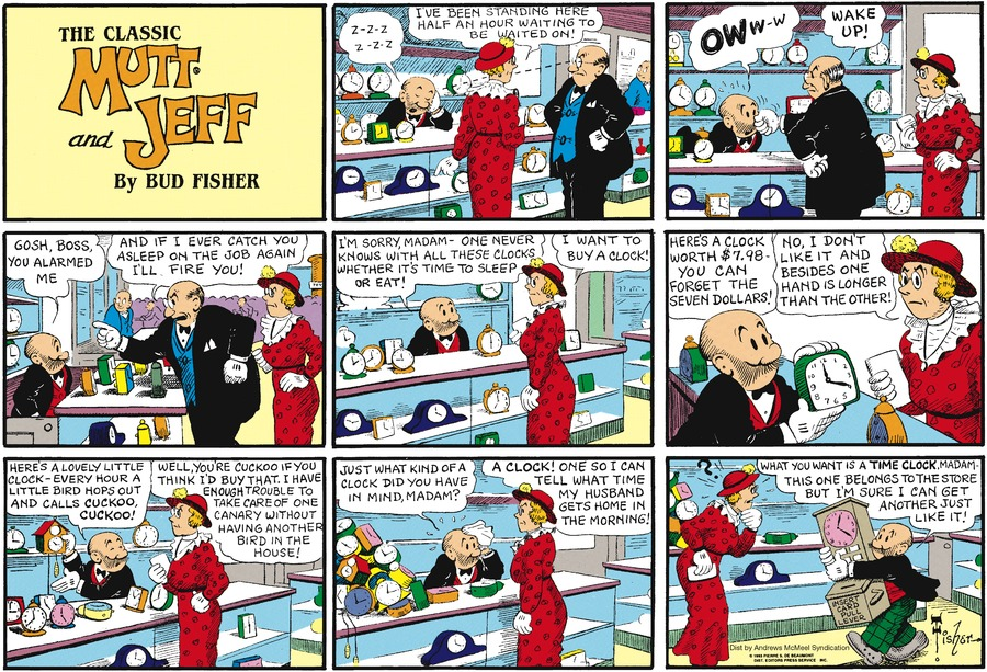 Mutt & Jeff Comic Strip for May 20, 2018
