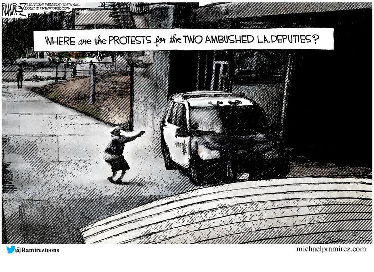 Michael Ramirez Comic Strip for September 15, 2020
