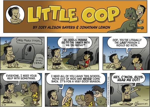Alley Oop on Sunday February 17, 2019 Comic Strip