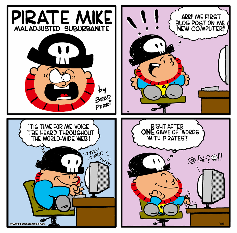 Pirate Mike Comic Strip for September 18, 2020