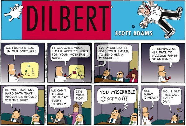 Dilbert - Sunday June 17, 2001 Comic Strip