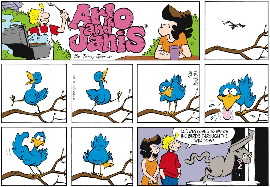 Arlo and Janis for Apr 20, 1997 Comic Strip