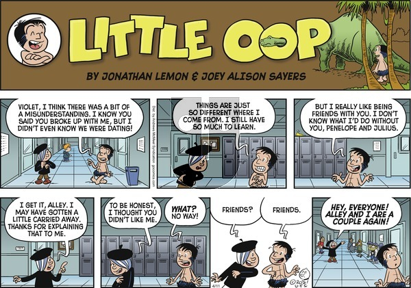 Alley Oop - Sunday April 11, 2021 Comic Strip