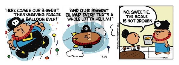 Pirate Mike on November 23, 2018 Comic Strip