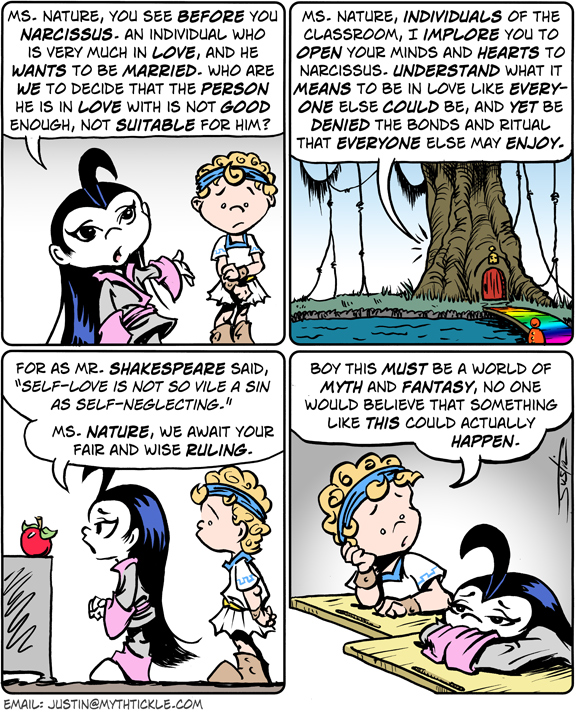 MythTickle Comic Strip for February 13, 2009