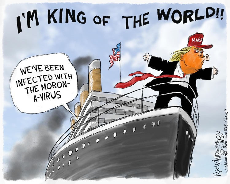 Nick Anderson Comic Strip for February 18, 2020