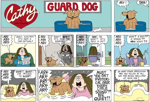 Cathy Classics on Sunday November 13, 2011 Comic Strip