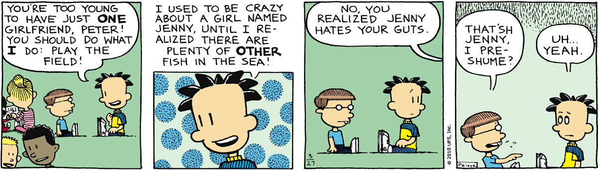 Big Nate Comic Strip for March 27, 2010
