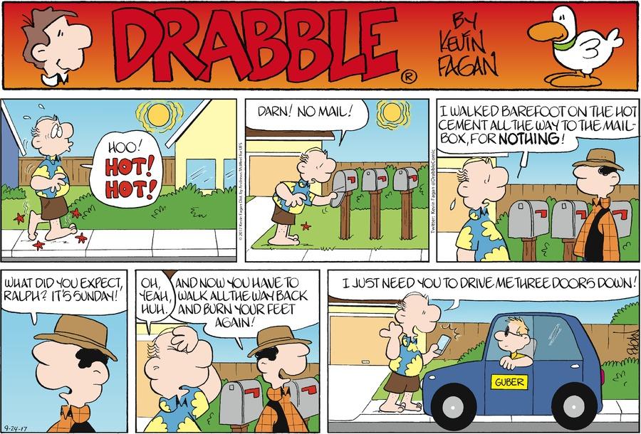 Drabble Comic Strip for September 24, 2017