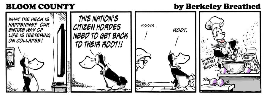 Bloom County 2018 by Berkeley Breathed for May 09, 2019