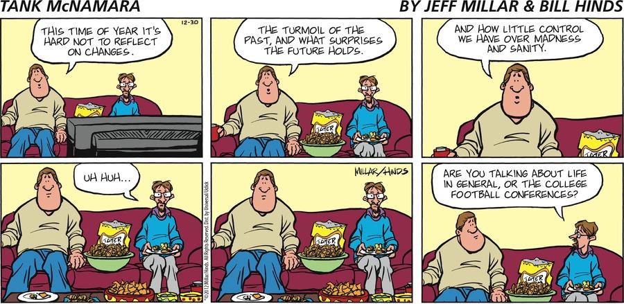 Tank McNamara for Dec 30, 2012 Comic Strip