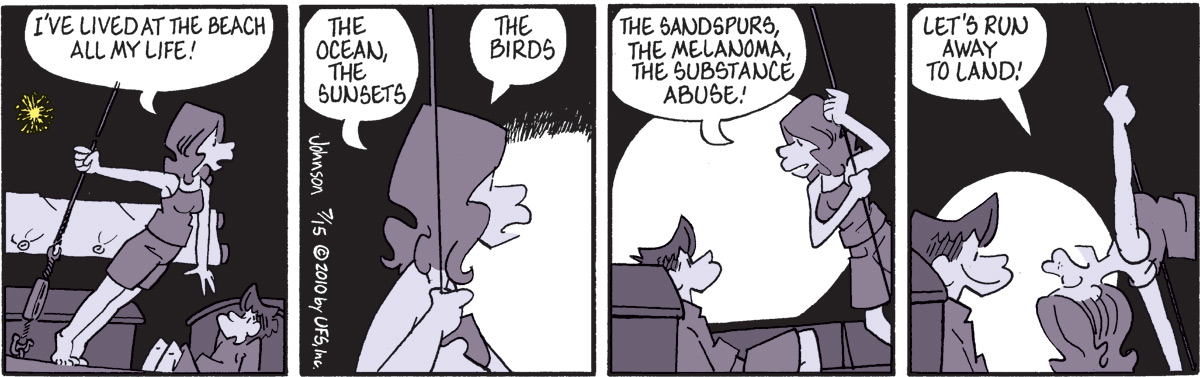Arlo and Janis Comic Strip for July 15, 2010