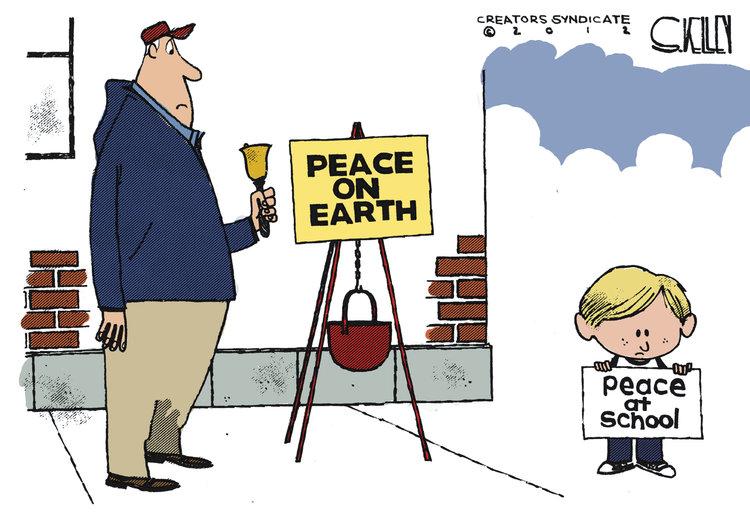 Steve Kelley Comic Strip for December 16, 2012