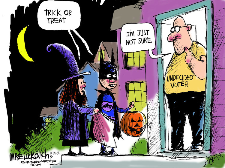 Mike Luckovich Comic Strip for October 19, 2012