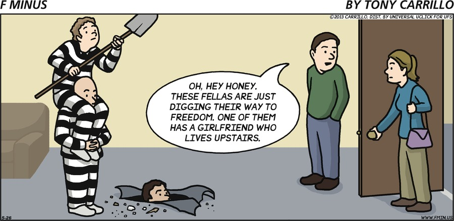 F Minus Comic Strip for May 26, 2013