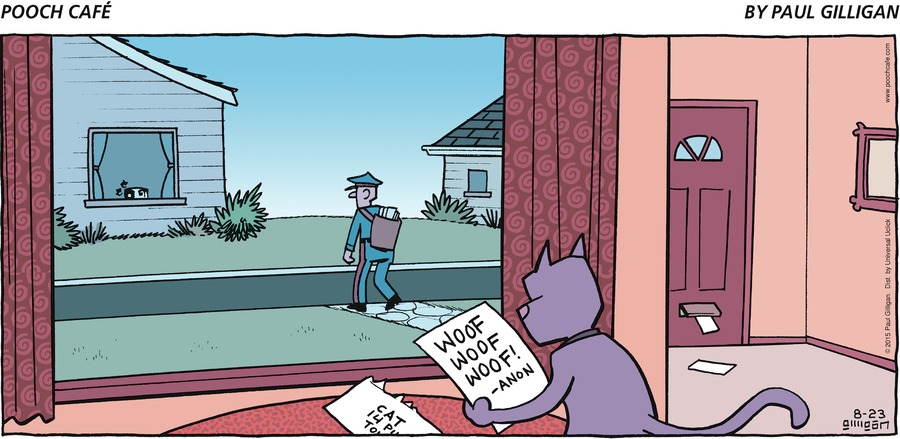 Pooch Cafe Comic Strip for August 23, 2015