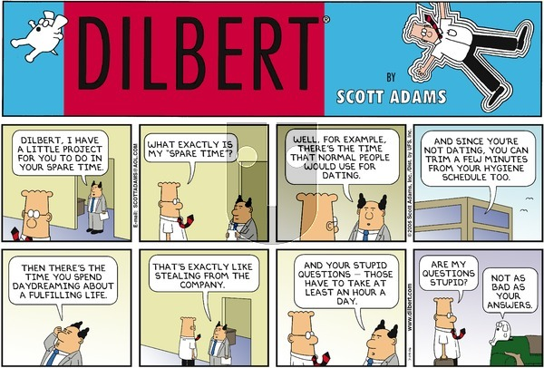 Dilbert - Sunday July 9, 2006 Comic Strip