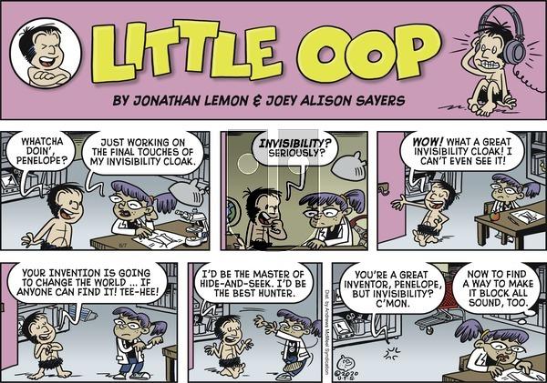 Alley Oop - Sunday June 7, 2020 Comic Strip
