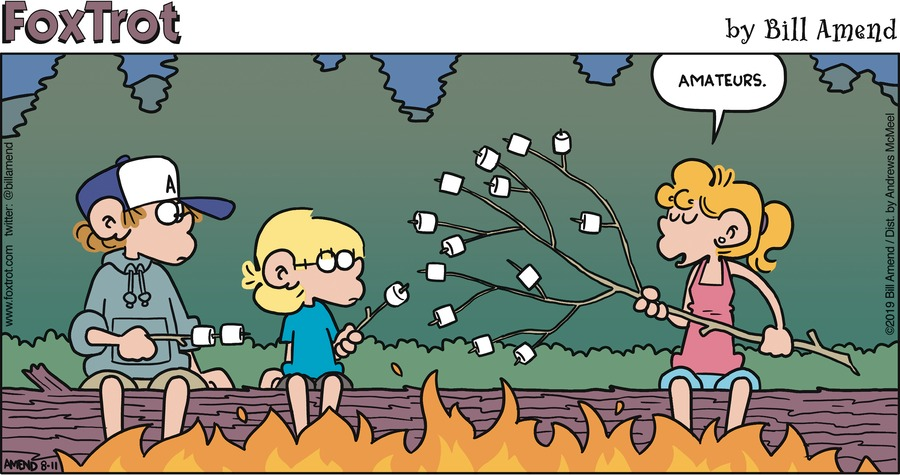 FoxTrot Comic Strip for August 11, 2019