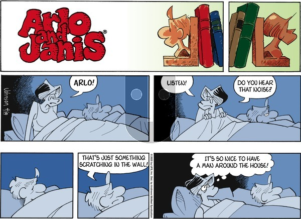 Arlo and Janis on Sunday April 19, 2020 Comic Strip