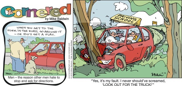 Cornered on Sunday June 16, 2019 Comic Strip