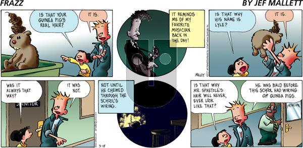 Frazz on Sunday March 18, 2007 Comic Strip