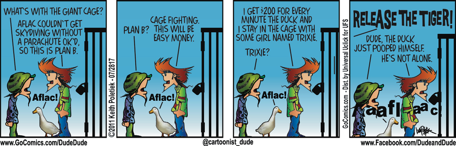 Dude and Dude for Jul 28, 2017 Comic Strip