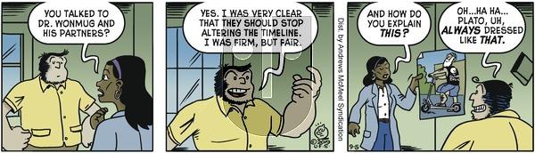 Alley Oop - Thursday September 5, 2019 Comic Strip