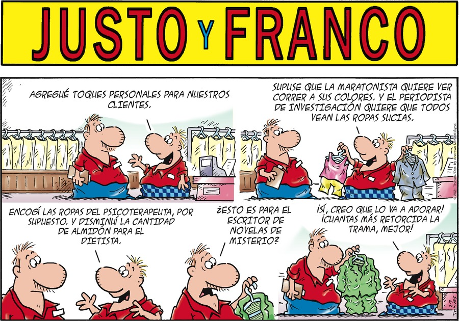 Justo y Franco by Thaves on Sun, 07 Feb 2021