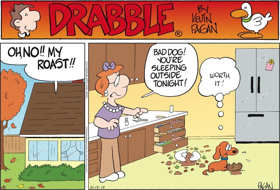 Drabble Comic Strip for October 13, 2019