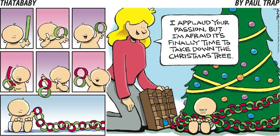 Thatababy Comic Strip for January 26, 2014