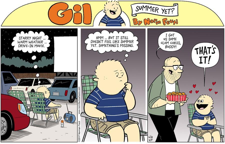 Gil Comic Strip for June 13, 2021