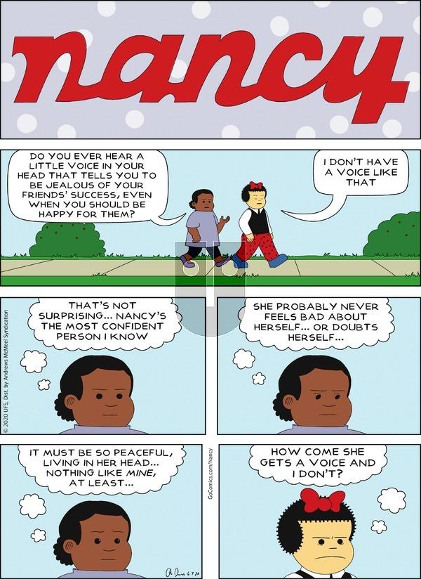 Nancy - Sunday June 7, 2020 Comic Strip