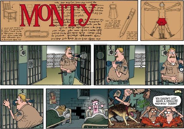 Monty on Sunday September 2, 2012 Comic Strip