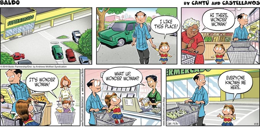 Baldo Comic Strip for September 08, 2019