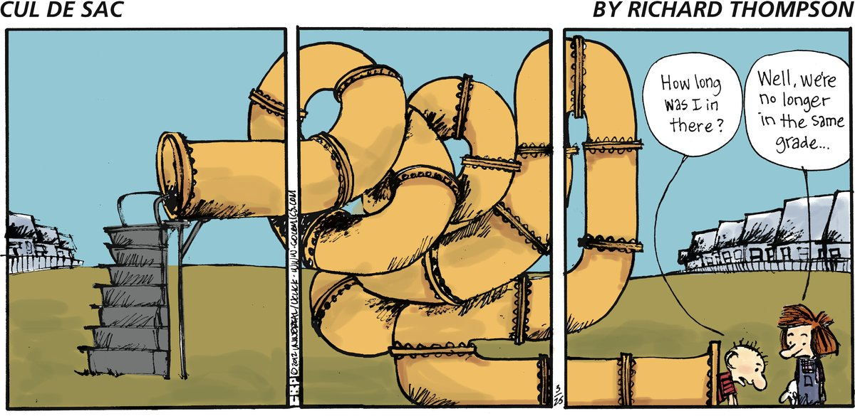 Cul de Sac for Mar 25, 2012 Comic Strip
