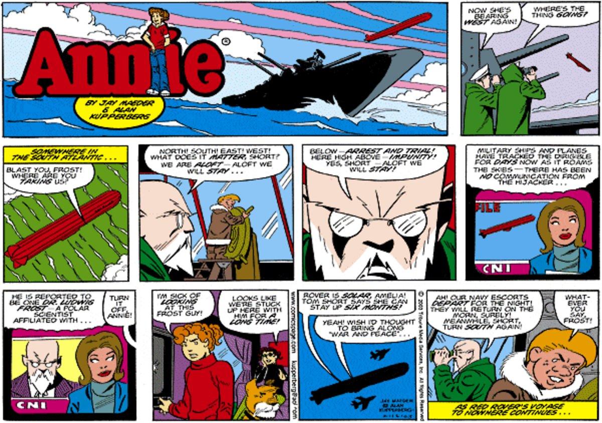 Annie for Nov 17, 2013 Comic Strip
