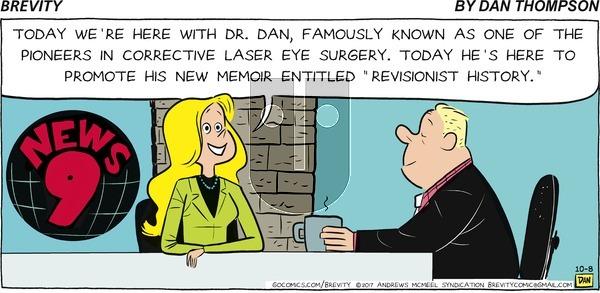 Brevity on Sunday October 8, 2017 Comic Strip