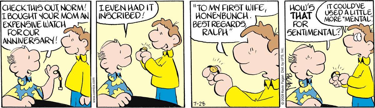 Drabble for Jul 28, 2009 Comic Strip