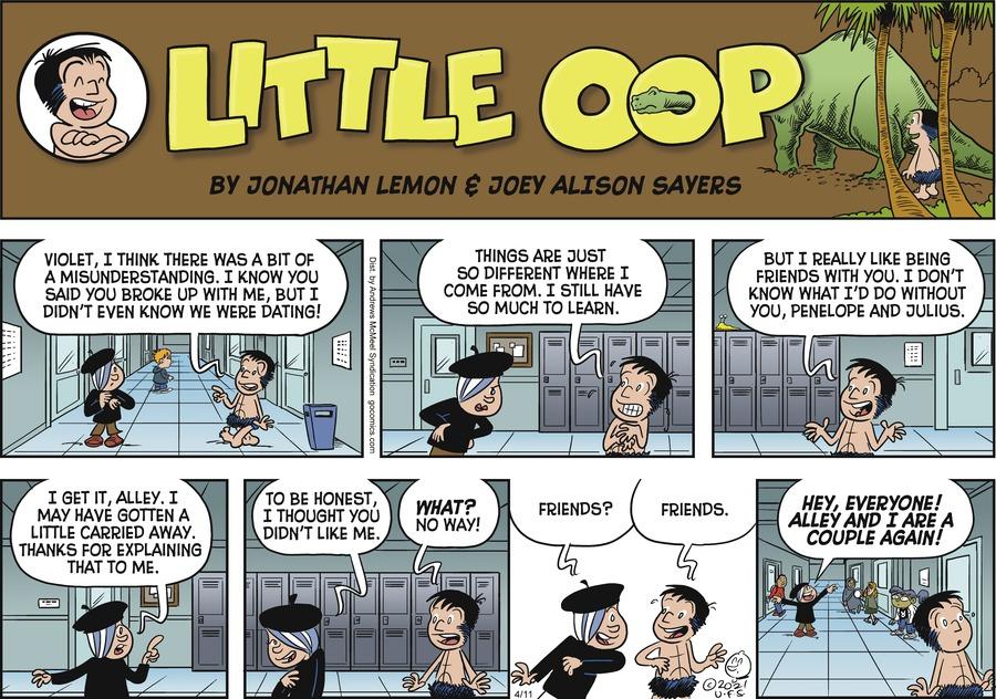 Alley Oop Comic Strip for April 11, 2021