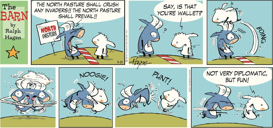 The Barn for Aug 25, 2013 Comic Strip