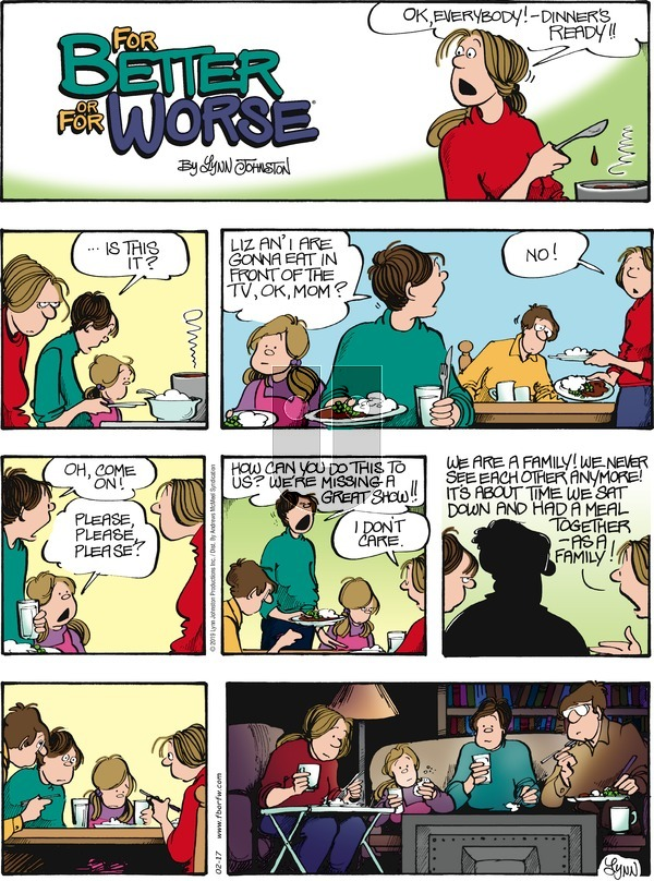 For Better or For Worse - Sunday February 17, 2019 Comic Strip