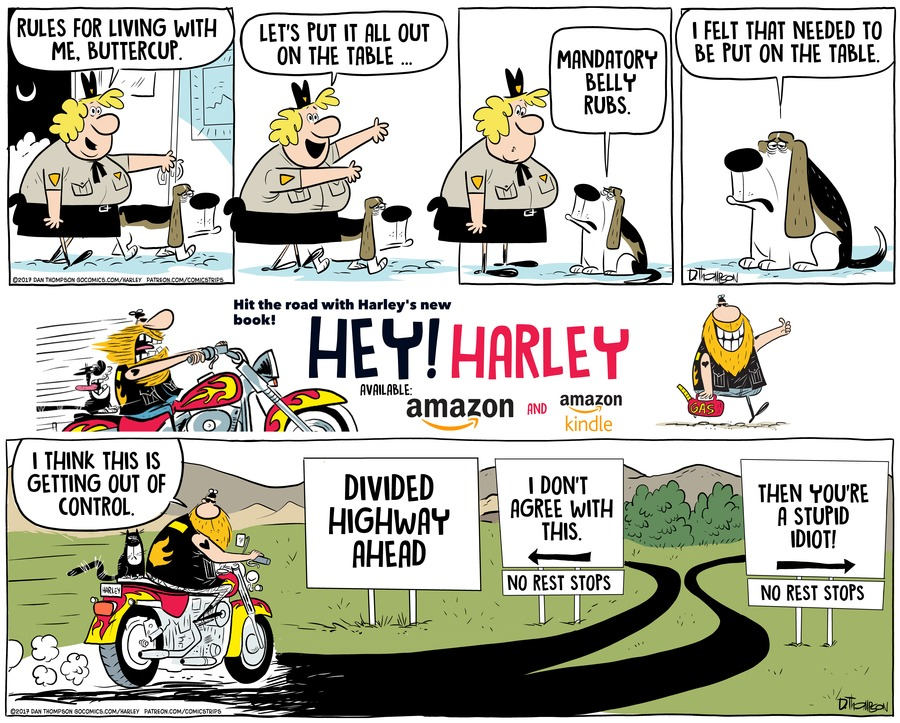 Harley by Dan Thompson for May 19, 2019