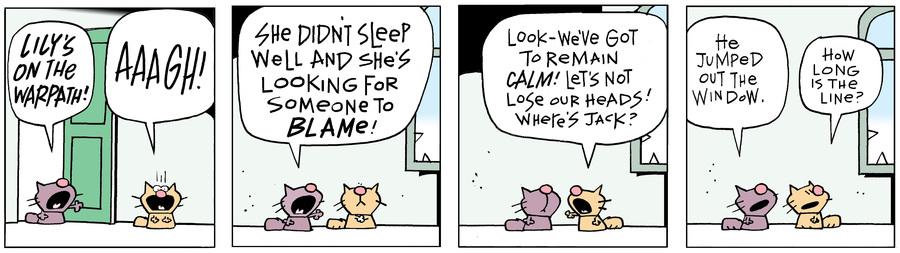 Ten Cats Comic Strip for April 18, 2019